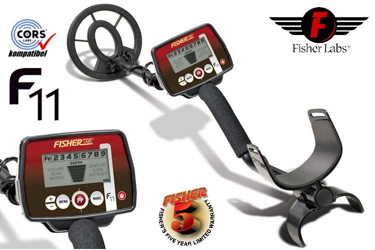 Fisher F11 Metalldetektor