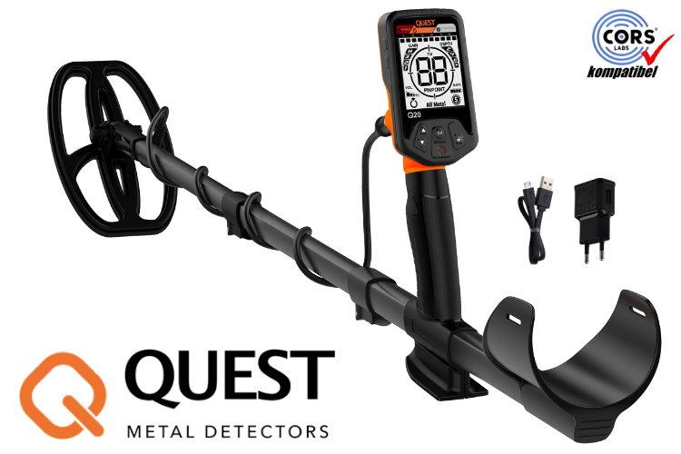 Deteknix QUEST Q20 Metalldetektor