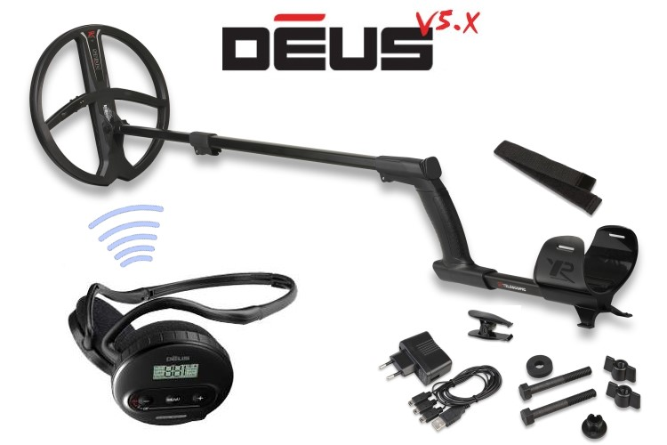 Metalldetektor XP Deus mit 28cm Spule X35